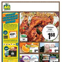 AG Foods - Weekly - Happy New Year Flyer