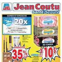 Jean Coutu - Beauty Health Stores Only Flyer