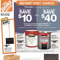 - Weekly - Instant Paint Savings Flyer
