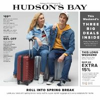 The Bay - Weekly - Roll Into Spring Break Flyer