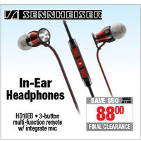 Sennheiser In-Ear Headphones
