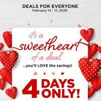 Fabricland - 4 Days Only! Flyer
