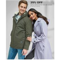 Spring Outerwear For Men And Women