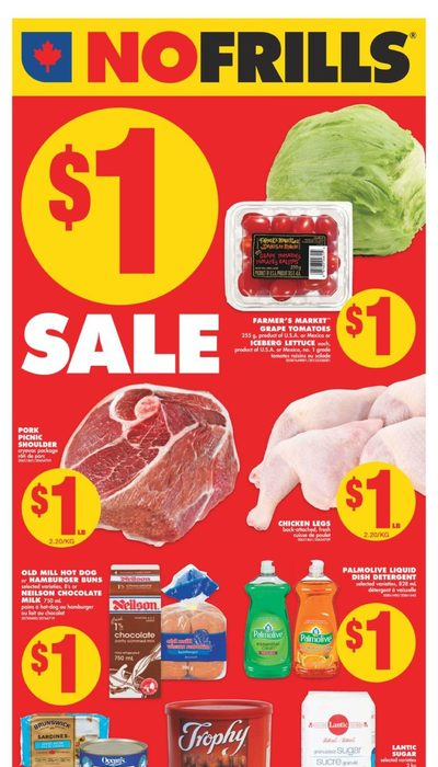 No Frills - Weekly - $1 Sale Flyer