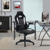 True Innovations Ergonomic Faux Leather Gaming Chair