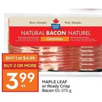 Maple Leaf Or Ready Crisp Bacon