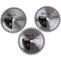 Bosch 3 Pk 10 In. Saw Blades