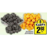 Blackberries, Goldenberries