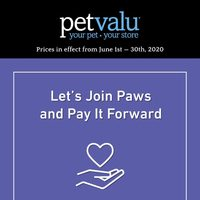 Pet Valu - Monthly Offers Flyer