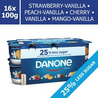 Danone Creamy Or iogo Regular Yogurt Or iogo Probio Or Fruit On The Bottom Yogurt