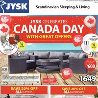 JYSK - Celebrate Canada Day Flyer