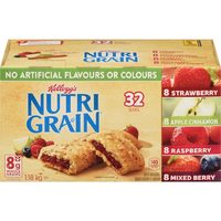 Kellogg's Nutri Grain, Pop Tarts Or Rice Krispies Squares