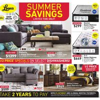 Leon's - Summer Savings Flyer