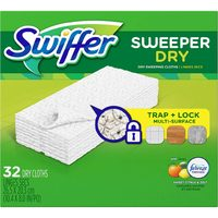 Glad Outdoor Garbage Bags, Air Wick Scented Oil Twin Refill Or Swiffer Dry Or Wet Sweeper Cloths
