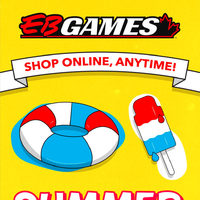 EB Games - Shop Online, Anytime! - Summer Fun Flyer