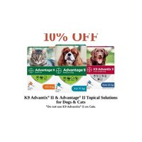 K9 Advantix II & Tropical Solutions for Dogs &Cats