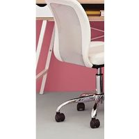 Mainstays White Mesh Chair