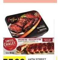 44th Street Beef Pot Roast or Swiss Chalet Fully Cooked Ribs