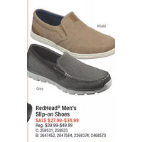 RedHead Men's Slip-On Shoes