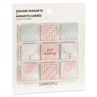 Locker Style By U Brands Magnet 9 Ct Square