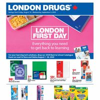 London Drugs - London First Day Flyer