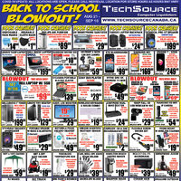 - Back To School Blowout! Flyer