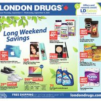 - Long Weekend Savings Flyer
