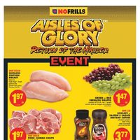 - Weekly - Aisles of Glory Event Flyer