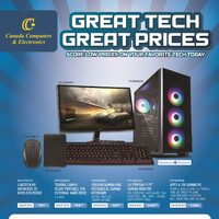 Canada Computers - Great Tech Great Prices Flyer