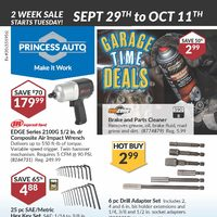 - 2 Week Sale - Garage Time Deals Flyer
