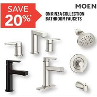 Meon Rinza Collection Bathroom Faucets