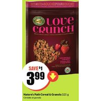 Nature's Path Cereal & Granola