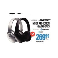 Bose Noise Reduction Headphones