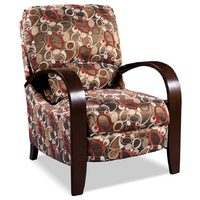 Aaron Accent Fabric Recliner