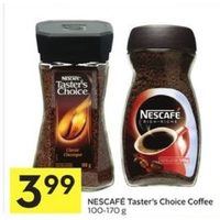 Nescafe Taster's Choice Coffee