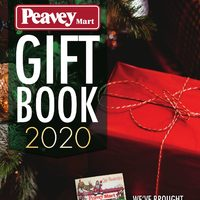 PeaveyMart - Gift Book 2020 Flyer