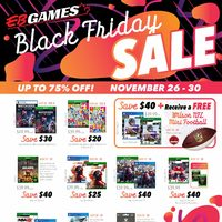 EB Games - Black Friday Sale Flyer