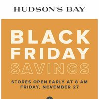The Bay - Black Friday Savings Flyer