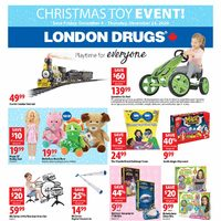 London Drugs - Christmas Toy Event! Flyer