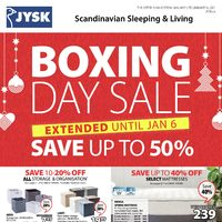 - Weekly - Boxing Day Sale Extended Flyer