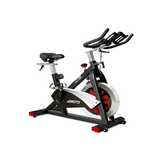 5. Best High-End: JOROTO Belt Drive Indoor Cycling Bike with Magnetic Resistance