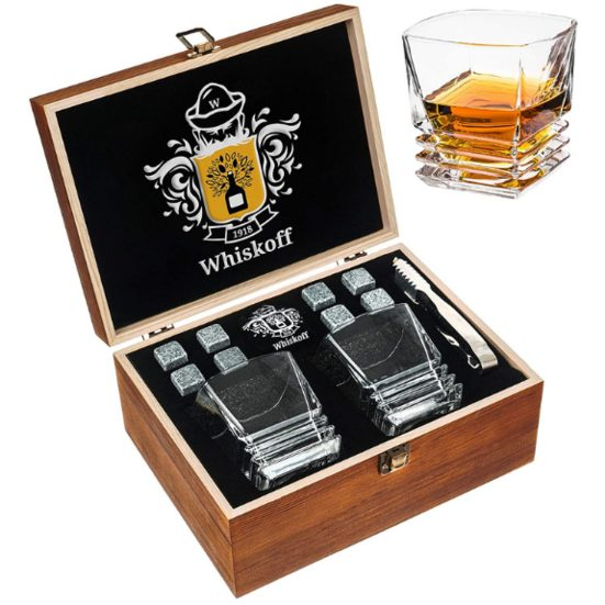 4. Best for the Casual Drinker:  Whiskey Stones Gift Set