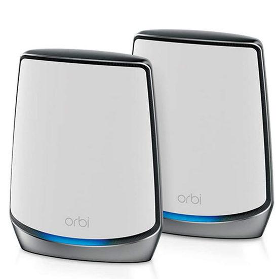 1. Editor's Pick: NETGEAR Orbi Whole Home Tri-Band Mesh Wi-Fi 6 System