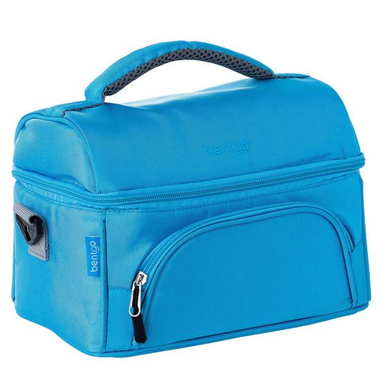 1. Editor's Pick: Bentgo Lunch Bag (Blue) – Insulated Lunch Tote