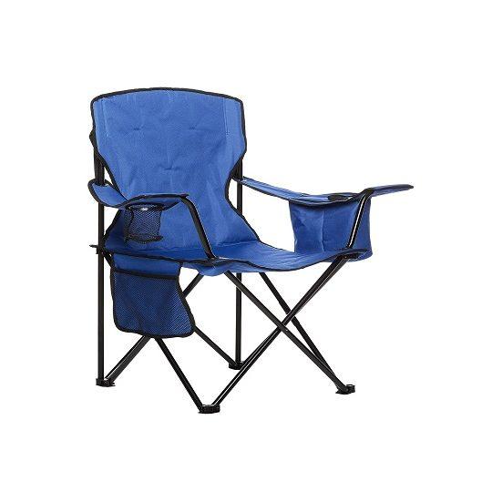 2. Runner Up: AmazonBasics Portable Camping Chair