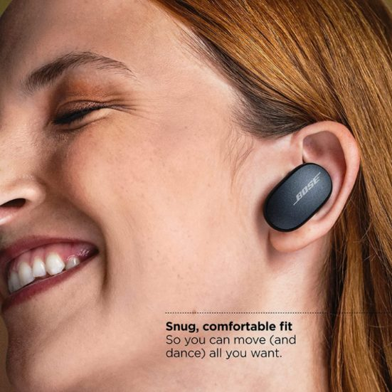 8. Best Noise Cancelling: Bose QuietComfort Noise Cancelling Earbuds