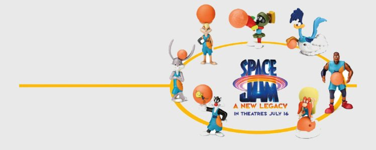 Space Jam: A New Legacy Happy Meal Toys Have Arrived at McDonald's Canada