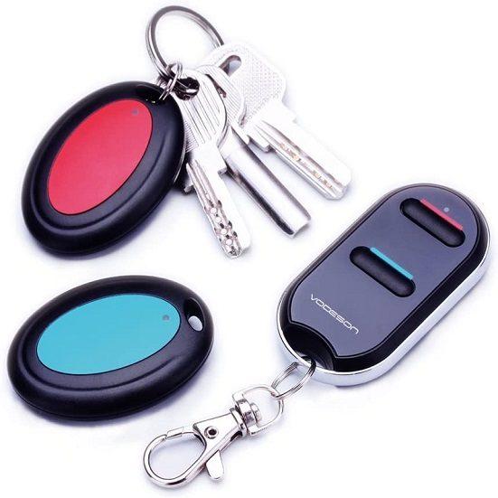 7. Best Indoor RF Finder: Vodeson Wireless RF Key Tracker