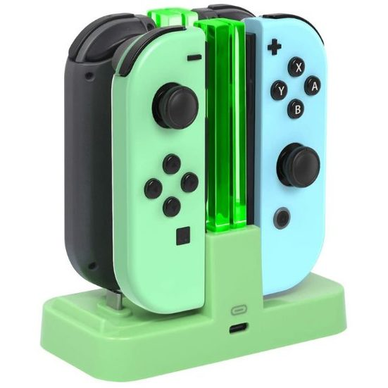 8. Charging Stand: FastSnail Controller Charger for Nintendo Switch