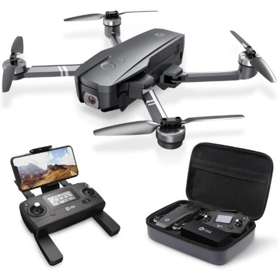 5. Best for Travelling: Holy Stone HS720 Foldable GPS Drone